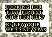 Re new your wedding vows,  Vow Renewals