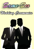 Same Sex Wedding Ceremonies, Same Sex Weddings in New York,  New York Gay weddings,  New York Lesbian Weddings